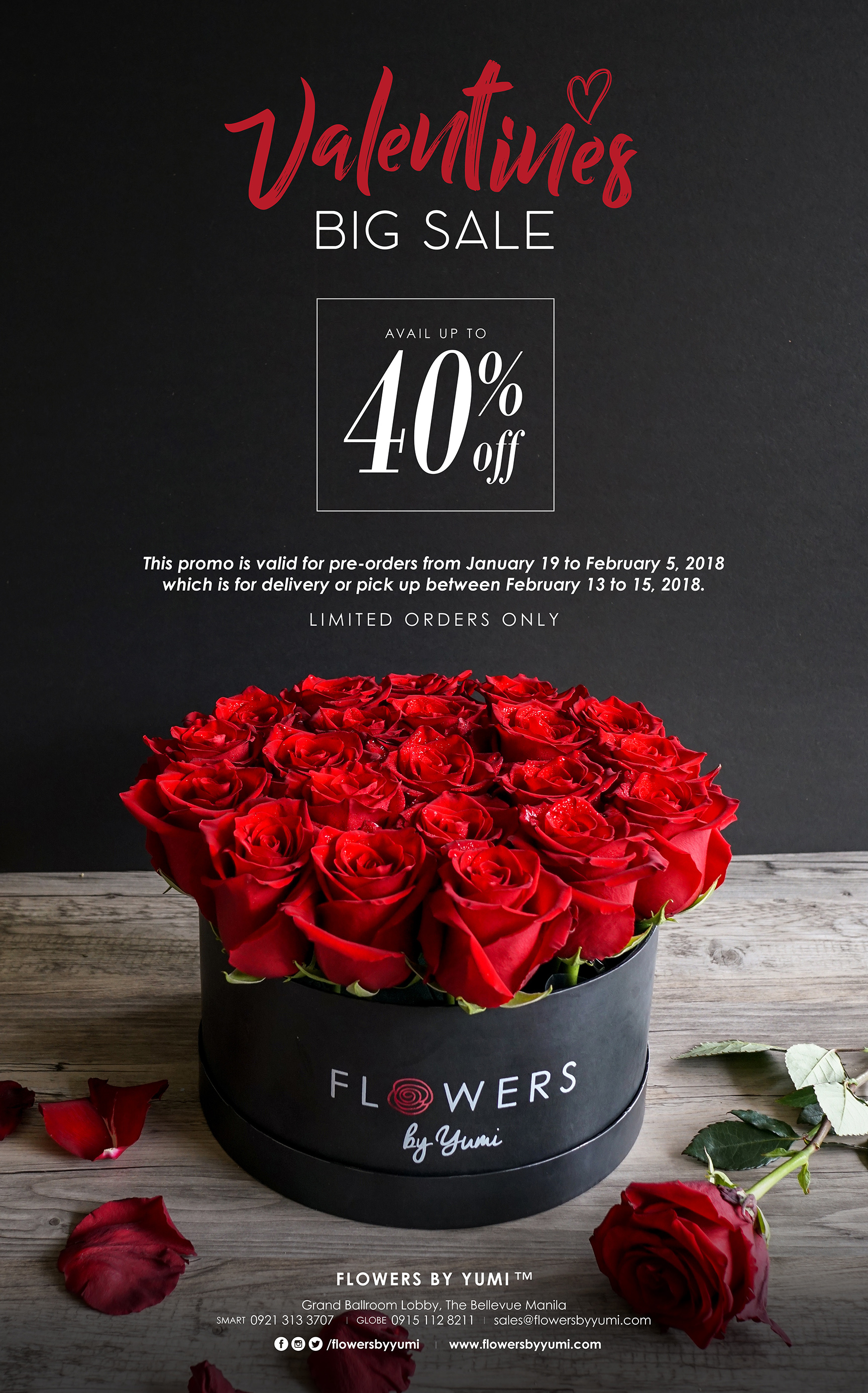 Promo Valentines Big Sale 2018 Flowers By Yumi